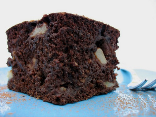 Chocolate Apple Cake recipe – 138 calories