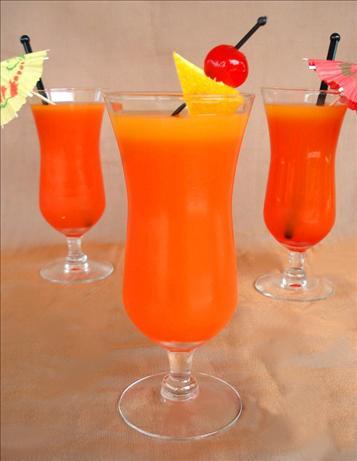Sunset Orange Juice Cocktail recipe – 179 calories