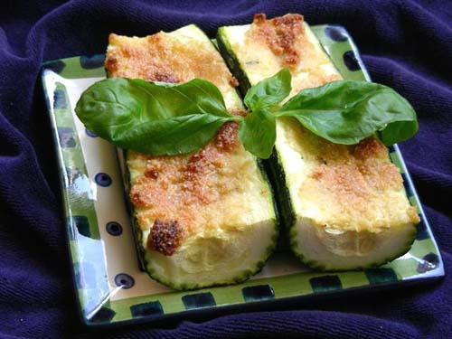Baked Zucchini recipe – 114 calories
