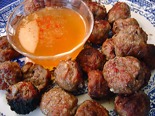 Vietnamese Meatballs recipe - 85 calories