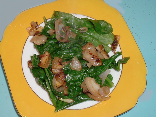 Collard Greens Salad recipe - 85 calories