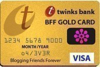 The BFF Gold Card Award