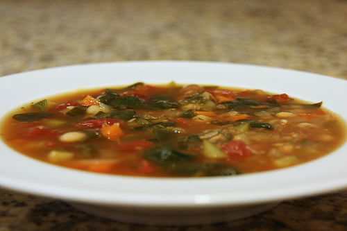 Crock Pot Vegetable Soup recipe – 79 calories