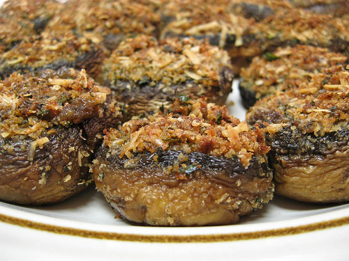 stuffed mushrooms recipe 175 calories - diet recipe blog