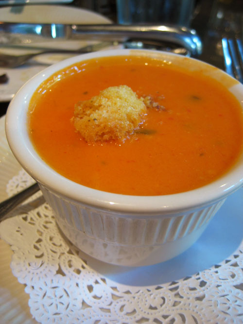 Cream of Tomato Soup recipe – 162 calories