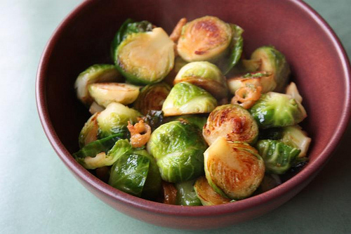 Brussels Sprouts with Fish Sauce recipe – 143 calories