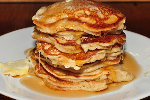 apple walnut pancakes recipe picture