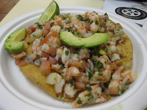 diet mexican ceviche recipe picture 181 calories