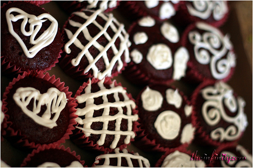 valentine's day red velvet cupcakes recipe picture