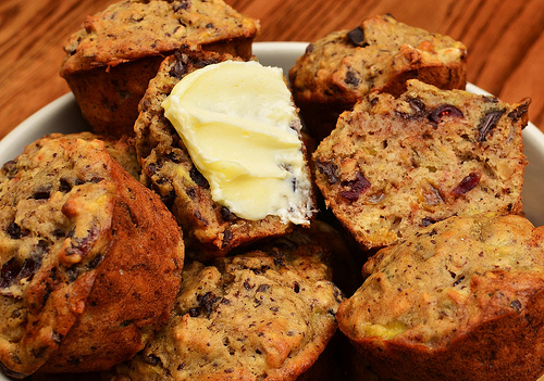 Low Calorie Banana-Chocolate Chip Muffins recipe – 167 calories
