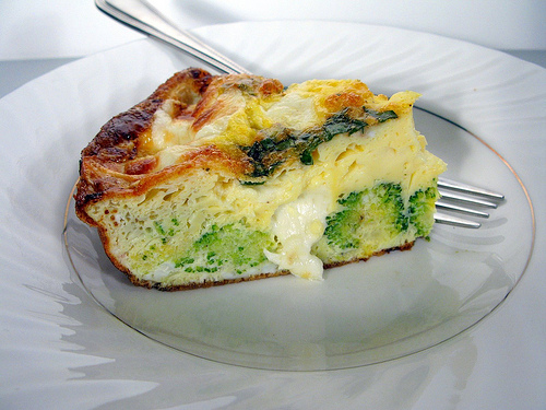 Easter Brunch Broccoli Frittata recipe photo