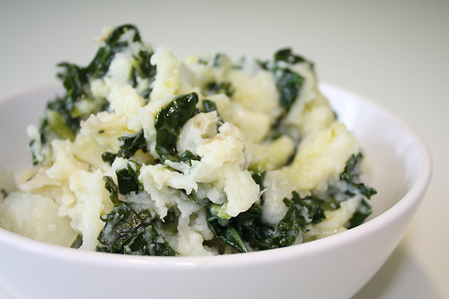 irish vegetarian colcannon recipe picture
