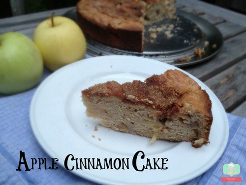 Cinnamon Apple Cake recipe photo