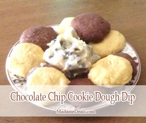 Gluten Free, Egg Free Chocolate Chip Cookie Dough Dip recipe photo