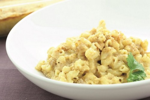 High-Protein Mac & Cheese recipe photo
