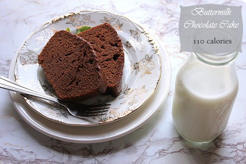 Low Calorie Buttermilk Chocolate Cake recipe photo