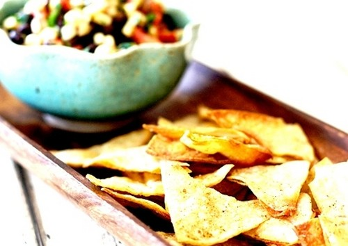 Low-Calorie Corn Torilla Chips recipe photo