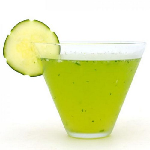 Low Calorie Cucumber Martini Cocktail recipe photo