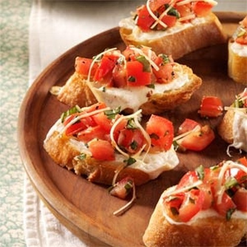 Low Calorie Delicious Bruschetta recipe photo