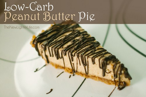 Low Carb Peanut Butter Pie recipe photo
