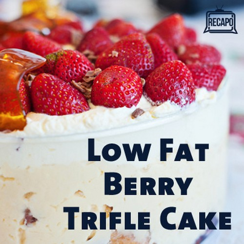 Low Fat Berry Trifle Cake recipe photo