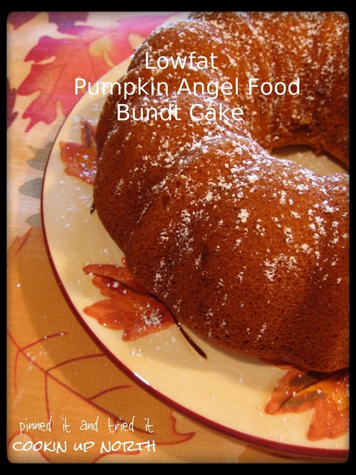 Low Fat Pumpkin Angel Food Cake recipe photo