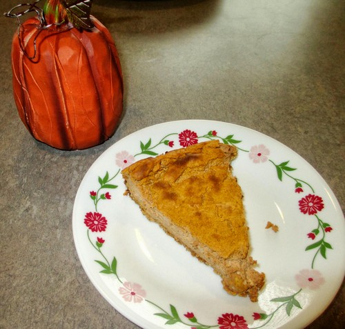 Low-Fat Pumpkin Cheesecake recipe photo