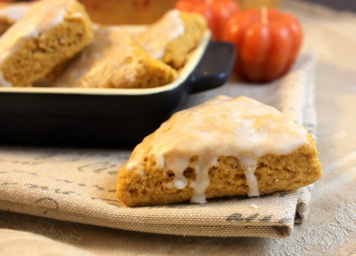 Low-Fat Pumpkin Scones recipe photo