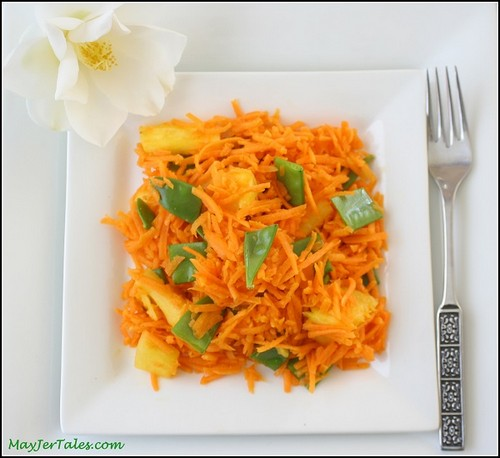 Low-Fat Raw Carrot Curry recipe photo