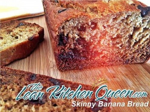 Scrumptious Skinny Banana Bread recipe photo