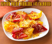 Pepper Nacho Nibblers recipe – 45 calories