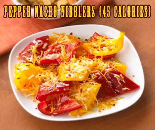 Pepper Nacho Nibblers (45 calories)