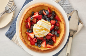 Berries and Cream Dutch Baby recipe - 200 calories